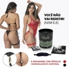 Kit Sensual Body Tailandês Preto fantazzia sex shop salvador