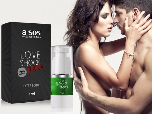 Gel LoveShock Power Eletrizante versão extra forte - 17ml