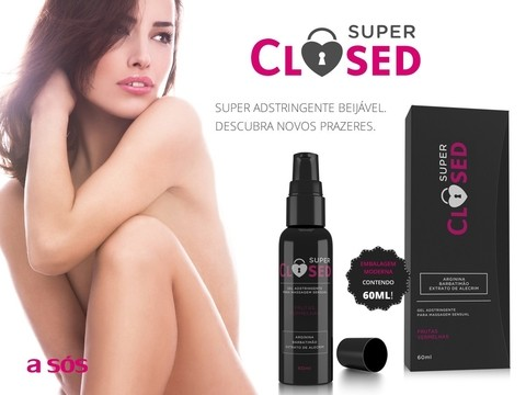 Gel Super Closed Adstringente - 60ml