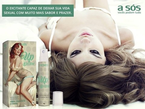 Gel Up Excitee Excitante Comestível Spray - 18g