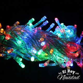 Guirnalda de Luces Led Multicolores 9mts aprox