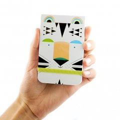 Mini-notes Tigre Blanco - comprar online