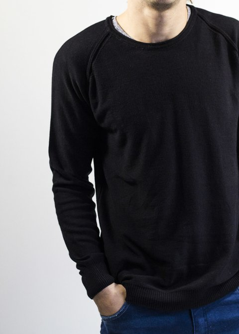 Sweater Pizarra Negro