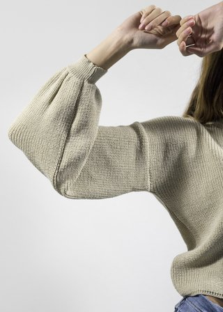Sweater Malaquita Beige en internet