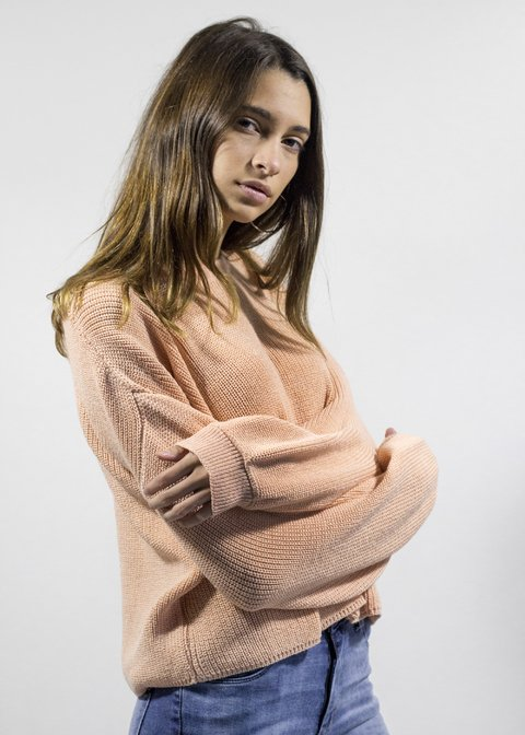Sweater Malaquita Rosa