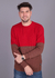 Sweater Medio LH | Colores: Rojo- Beige- Marron- Celeste