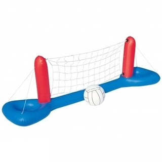Bestway Set Volley Voley Inflable Pileta Flotante con Red y Pelota Tienda Pepino