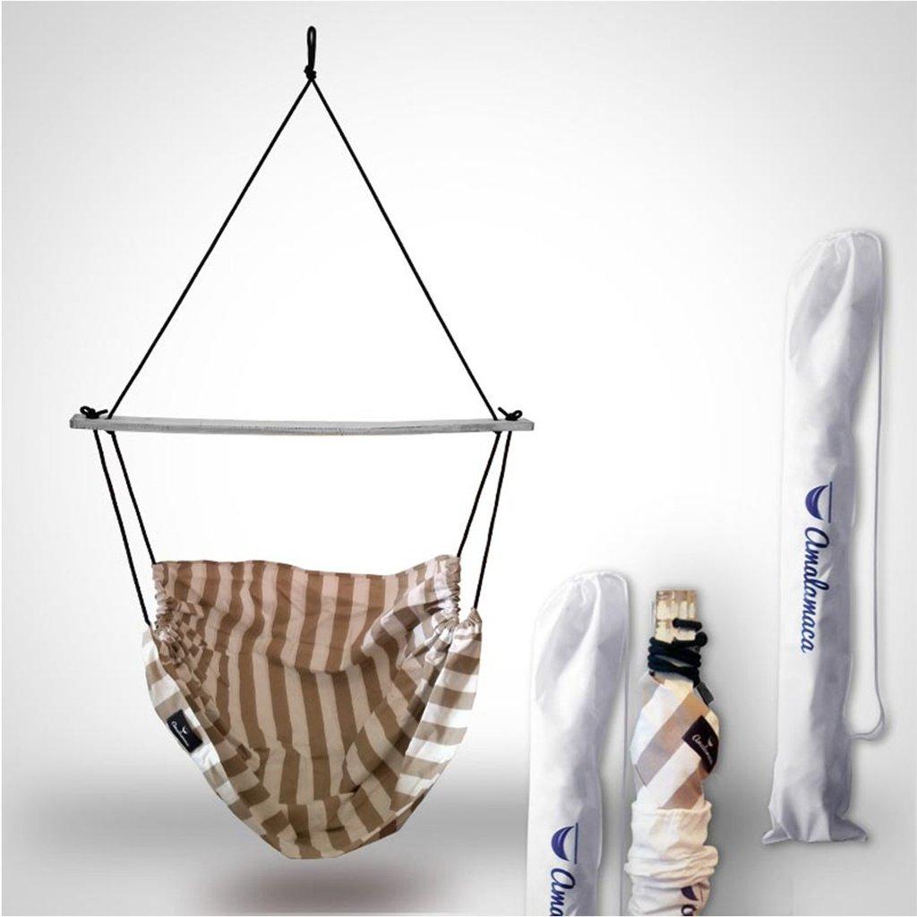 Amalamaca hamaca paraguaya silla colgante malibu for Silla hamaca colgante