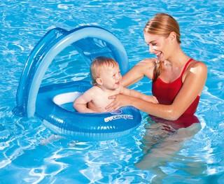 Bestway Asiento Flotador Baby Salvavidas Inflable