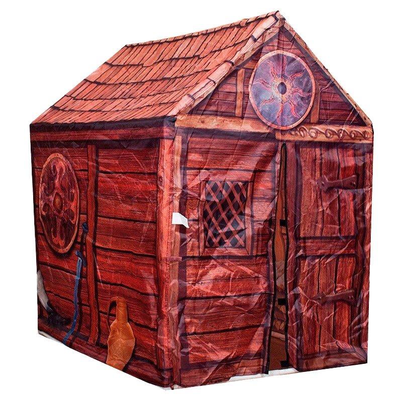 iplay casita cabaa tronco madera pelotero infantil castillo