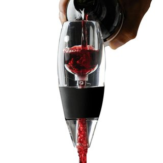 Aireador Oxigenador Vino Magic Decanter C/pie Tienda Pepino