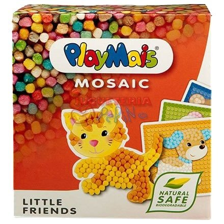 Playmais Mosaicos Juego Didáctico Maís Biodegradable Alemán - Little Friends