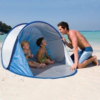Bestway Carpa Playa Secura Autoarmable Pop Up Proteccion Uv