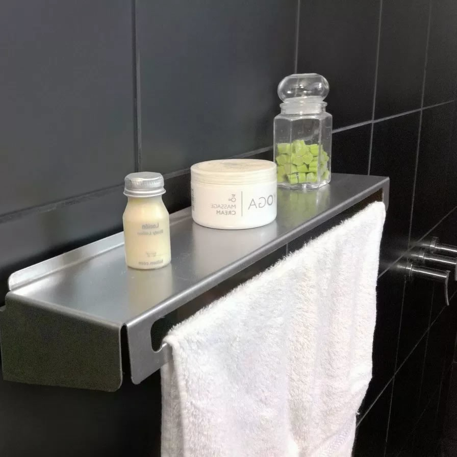 Muett Toallero de Acero Estante Repisa Para Baño. 0% OFF f6c8f258663e