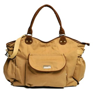 Happy little moments Bolso Cartera Maternal Gabardina Natasha Beige