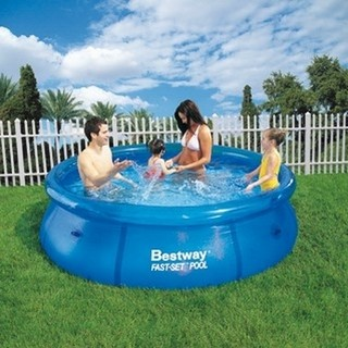 Bestway Pileta Inflable Fast Set Anillo 244x66 2300 Litros
