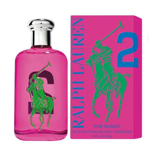 PERFUME RALPH LAUREN BIG PONY No. 2 PINK 100 ML