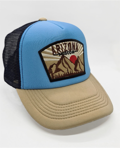 Gorra Trucker Arizona L. Blue