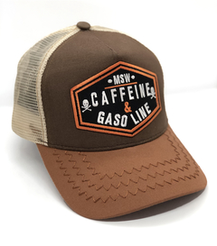 Gorra CAFFEINE Brown VTG