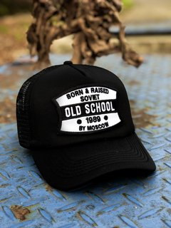 Gorra Old School Soviet Black
