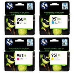 Pack Cartucho Original HP 950XL Negro 951XL Colores