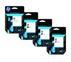 Cabezal HP 11 - Pack 4 Colores