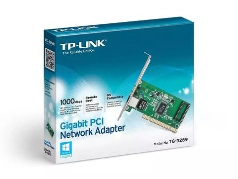 Placa De Red Gigabit Pci Tp-link Tg-3269 10/100/1000 Mbps