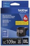 Cartucho De Tinta Brother Lc 109bk Negro 1200 Pag Original