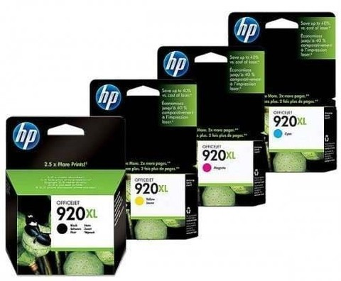 Cartucho HP 920XL - Pack 4 Colores