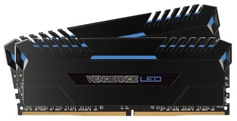 Memoria Corsair Ddr4 32gb 2x16gb 3200mhz Vengeance Led Blue