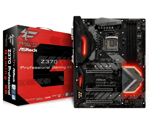 Motherboard Asrock Fatal1ty Z370 Gaming K6 1151 Coffee Lake
