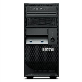 Servidor Torre ThinkServer TS140, Intel E3-1225V3 4Core 3,2GHz, 4GB, 2x500GB SATA