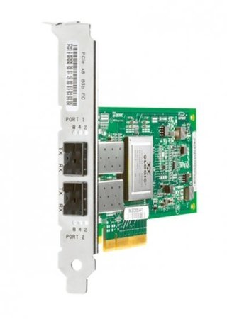 Controladora HBA HP Fibre Channel LC 8GB Dual Port AJ763A