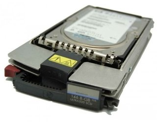 HD SCSI HP/COMPAQ 146.8GB U320 10K RPM - BD14686225