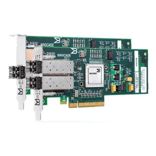 HBA Fibre Channel Brocade Single Port 4Gb/s, PCI Express x8 2.0, Low Profile MD2, PN:BR-415-0010