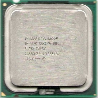 Intel Core 2 Duo Processor E6550, SLA9X