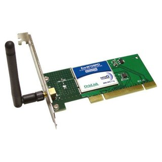 Placa de Rede Wireless PCI Ovislink 108Mbps 802.11b/g, EVO-W108PCI