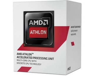 Processador AMD Athlon 5150 1.6GHz 2MB AM1 (AD5150JAHMBOX T(N))