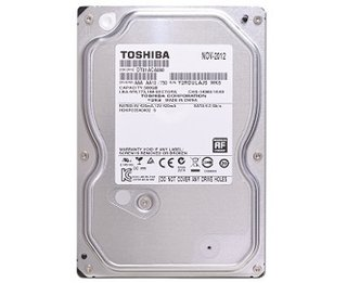 HD Interno Toshiba New HD 500GB 7200rpm 3.5in Desktop New New (DT01ACA050 New)