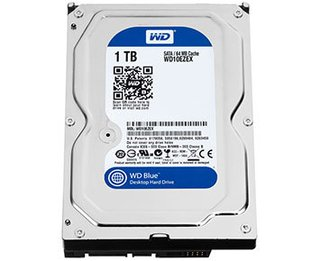 HD Interno Western Digital 1TB SATA 6Gb/s 64MB 3.5in (WD10EZEX-00RKKA0 1)