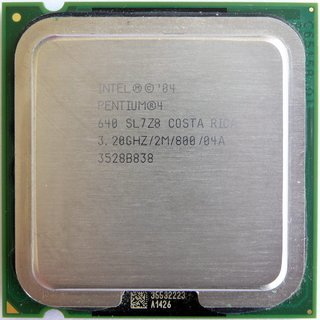 Intel Pentium 4 Processor 640 supporting HT Technology, SL7Z8