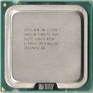 Intel Core 2 Duo Processor E7500, SLGTE