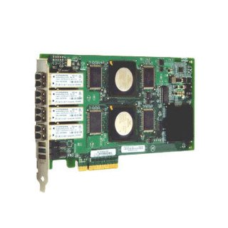 Controladora HBA QLOGIC 4 Ports 4Gb Fibre Channel PCI Express x8, LC multi-mode x 2 QLE2464-CK