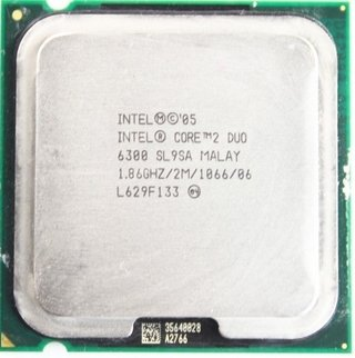 Intel Core 2 Duo Processor E6300, SL9SA