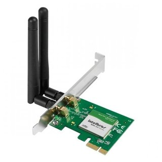 Placa de Rede Wireless PCI-e Intelbras, WPN300