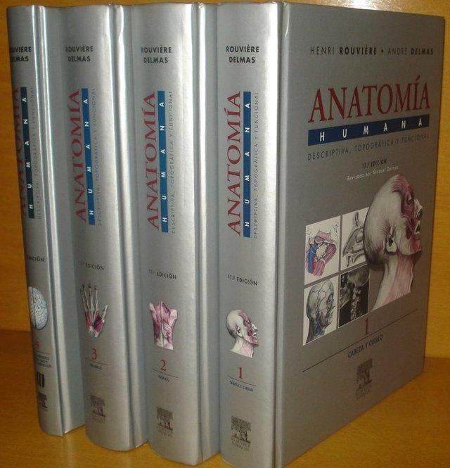 Compendio de anatomia y diseccion rouviere