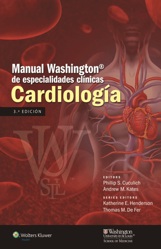 Manual Washington de Cardiología - Cuculich - ISBN:  9788416004157
