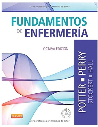 Fundamentos de Enfermería 8° Ed - Potter Perry  - Isbn: 9788490225356
