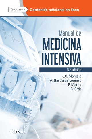 Manual de Medicina Intensiva 5° Ed - Montejo - Isbn: 9788490229460