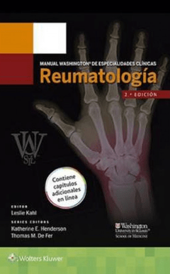 Manual Washington de Reumatología - Kahl - 9788416004911